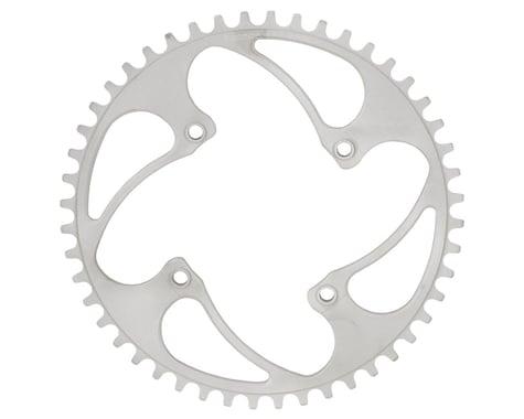 RENNEN BMX Threaded 4-Bolt Chainring (Silver) (38T)