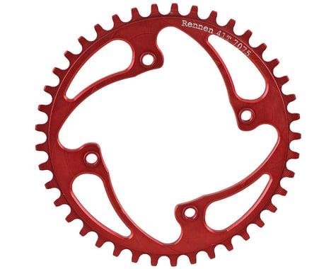 RENNEN BMX Threaded 4-Bolt Chainring (Red) (38T)