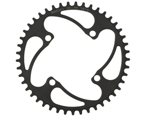 RENNEN 4-Bolt Decimal Chainring (Black) (39.1T)