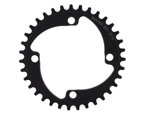 RENNEN 4-Bolt Chainring Non-Threaded (Black) (35T)