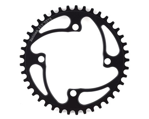 RENNEN 4-Bolt Chainring Non-Threaded (Black) (41T)