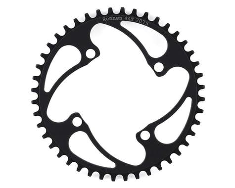 RENNEN 4-Bolt Chainring Non-Threaded (Black) (44T)