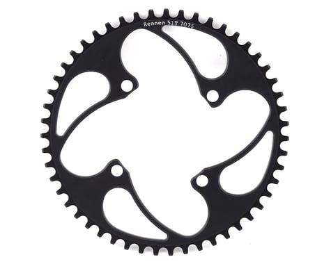 RENNEN 4-Bolt Chainring Non-Threaded (Black) (51T)