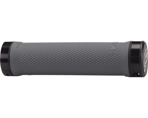 Renthal Lock-On Grips (Charcoal) (Medium)