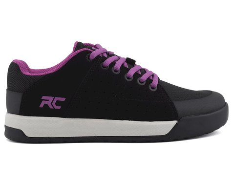 Ride Concepts Livewire Women's Flat Pedal Shoe (Black/Purple) (8)