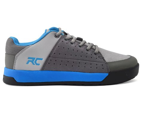 Ride Concepts Youth Livewire Flat Pedal Shoe (Charcoal/Blue) (Kids 4)