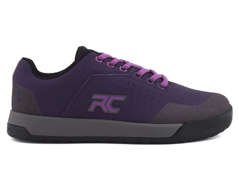 Ride Concepts Hellion Women's Flat Pedal Shoe (Dark Purple/Purple) (5)