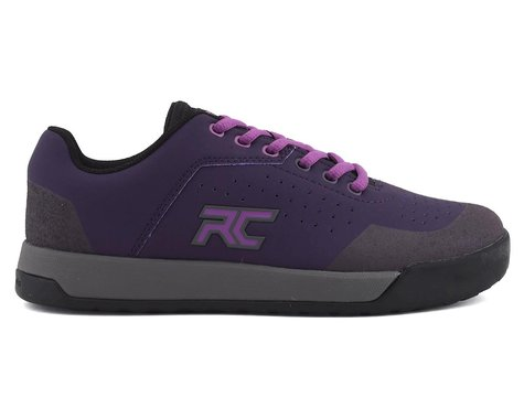 Ride Concepts Hellion Women's Flat Pedal Shoe (Dark Purple/Purple) (7)