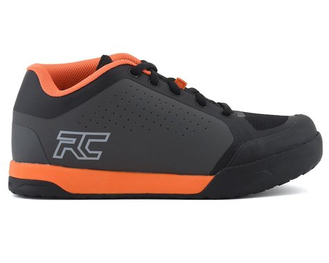 Ride Concepts Powerline Flat Pedal Shoe (Charcoal/Orange) (8.5)