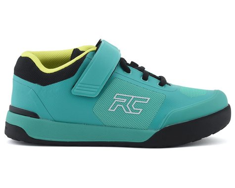 Ride Concepts Women's Traverse Clipless Shoe (Teal/Lime) (10)