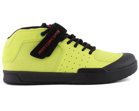 Ride Concepts Wildcat Flat Pedal Shoe (Lime) (10)
