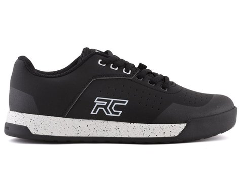 Ride Concepts Women's Hellion Elite Flat Pedal Shoe (Black/White) (5.5)