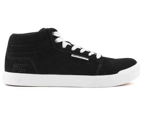 Ride Concepts Vice Mid Flat Pedal Shoe (Black/White) (7.5)