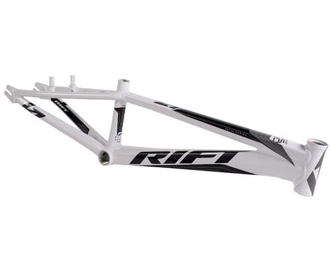 RIFT ES20 BMX Race Bike Frame (White/Grey/Black)