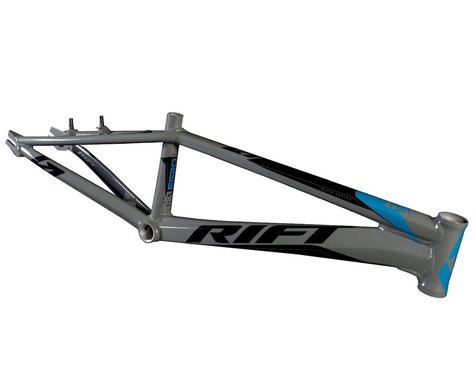RIFT ES20 BMX Race Bike Frame (Grey/Blue/Black) (Expert XL)