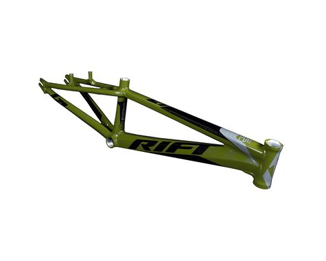 RIFT ES24 Race Frame (Army Green/White/Black)