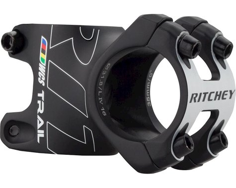 Ritchey WCS Trail 35 Stem (Matte Black) (35mm Clamp) (35mm) (0°)