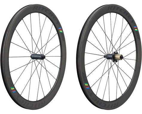 Ritchey WCS Apex 50 Tubeless Wheelset (Black) (QR x 100/130) (700c)