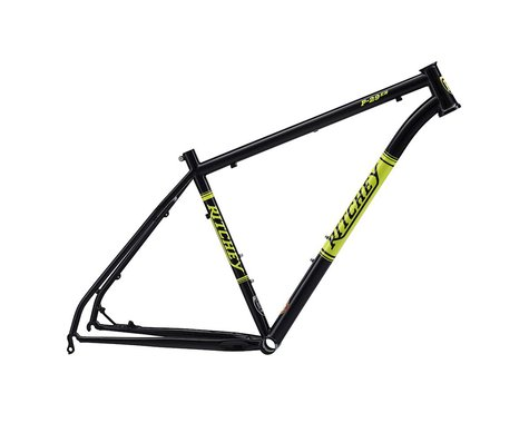 "Ritchey P-29er Frame (Black/Yellow) (17"")"