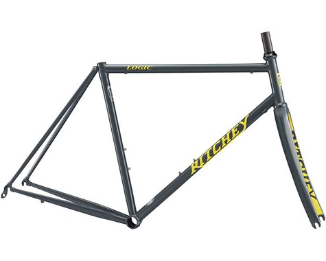 Ritchey Road Logic Frameset (Grey/Yellow) (53)
