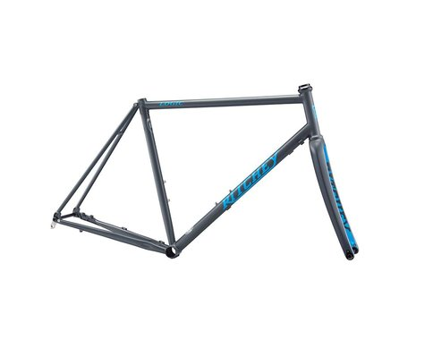 Ritchey Road Logic Disc Frameset (Grey/Blue) (53)