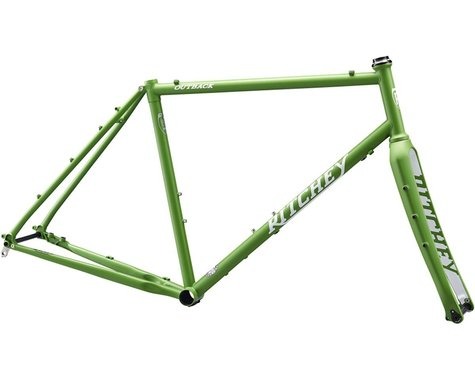 Ritchey Outback V2 Frameset (Matte Green/White) (XL)