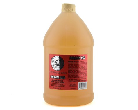 "Rock ""N"" Roll Miracle Red Bio-Cleaner/Degreaser (1 Gallon)"