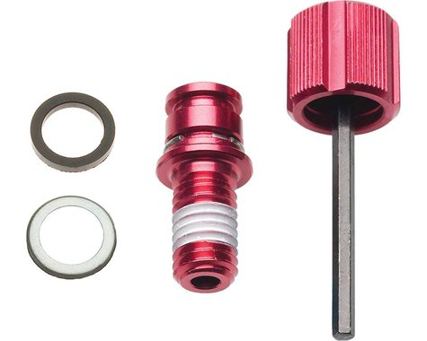 RockShox Rebound Adjuster Knob/Bolt Kit, Domain / Lyrik / Totem /10-14 BoXXer RC
