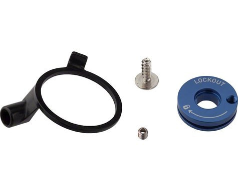 RockShox Remote Spool & Cable Clamp Kit (XC32 / Recon Silver)