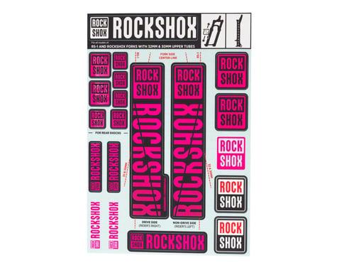 RockShox Decal Kit (30/32mm) (Magenta)