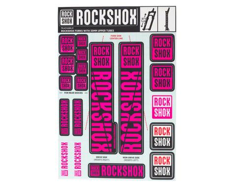 RockShox Decal Kit (35m) (Magenta)