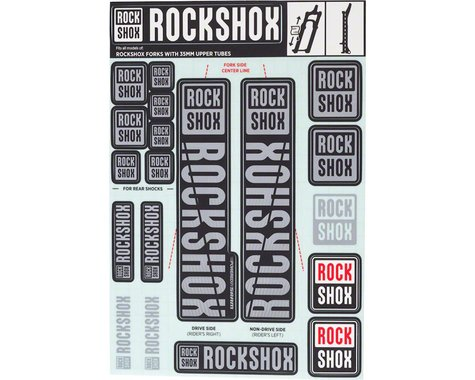 RockShox Decal Kit (35m) (Grey)