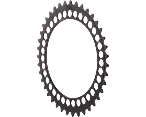 Rotor Q-Ring Oval 5 Position Chainring (Black) (130mm BCD)