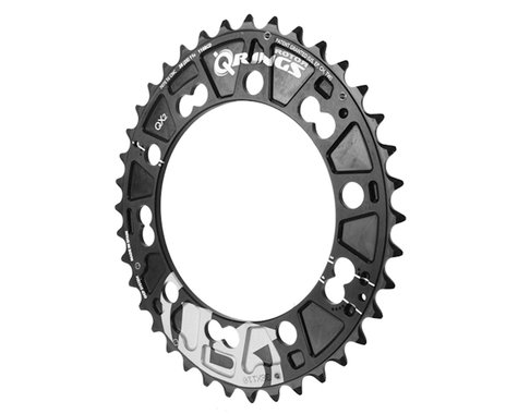 Rotor QX2 Mtn Chainring (Black) (110mm BCD) (38T)