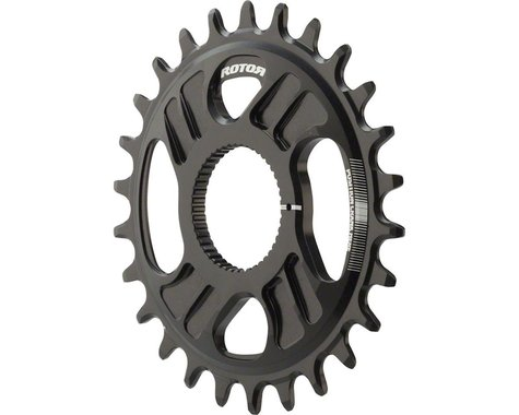 Rotor noQ Direct Mount Round Chainring for Rotor Mountain Cranksets (Black) (26T)