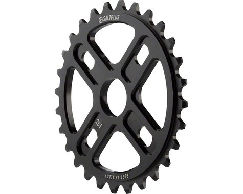 Salt Plus Manta Bolt Drive Sprocket 28t Black Includes Adaptors for 19 and 22mm