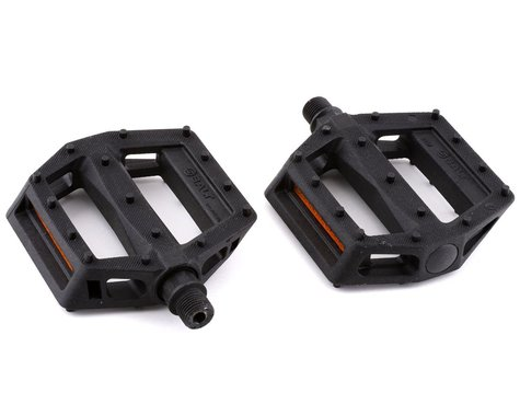 "Salt Junior V2 Pedals - Platform, Composite/Plastic, 9/16"", Black"