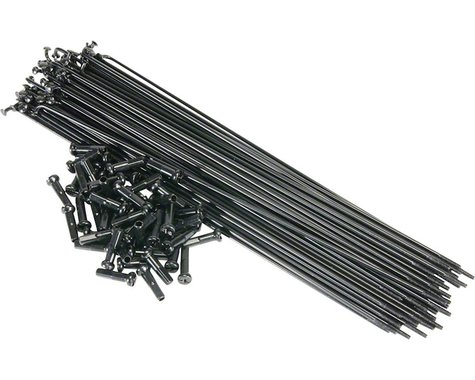 Salt PG Spokes 186mm 40 Pieces Black