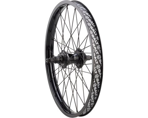 "Salt Plus Mesa Rear Wheel - 20"", 14 x 110mm, Rim Brake, LSD Freecoaster, Black,"