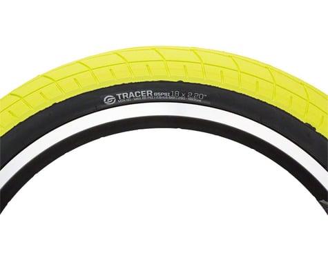Salt Tracer Tire - 18 x 2.2, Clincher, Wire, Neon Yellow/Black