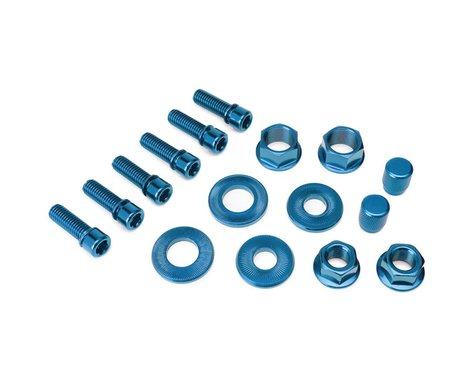 Salt Nut and Bolt V2 Hardware Pack Blue