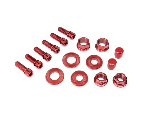Salt Nut and Bolt V2 Hardware Pack Red