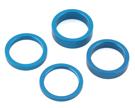 """Salt Headset Spacer Set  (Blue) (1-1/8"""")"""