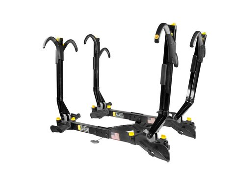 "Saris Freedom SuperClamp Hitch Rack: 4 Bike, 2"" Receiver, Black"