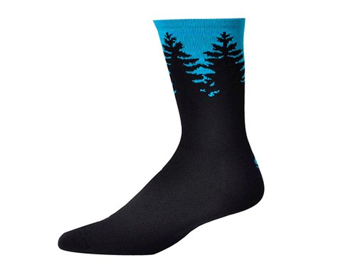 "Save Our Soles Evergreen 7"" Socks (Cyan)"