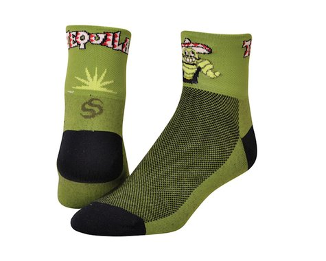 "Save Our Soles Tequila 2.5"" Socks (Green) (L)"