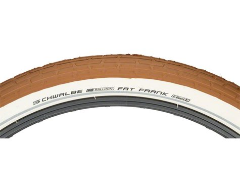 "Schwalbe Fat Frank Urban Cruiser Tire (Brown/Reflex) (26"") (2.35"")"