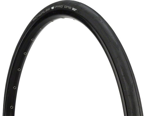 Schwalbe Pro One Tubeless Road Tire (Black) (700c) (30mm)