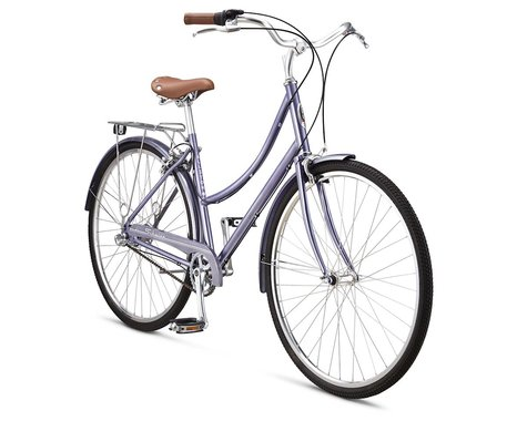 Schwinn Allston 2 Women's Urban Bike - 2016 (Purple)