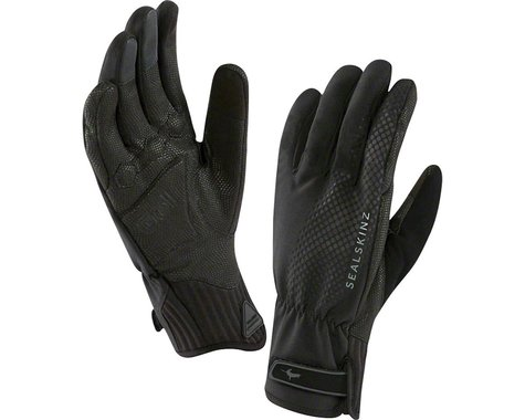 Sealskinz Seal Skinz All Weather Cycle XP Waterproof Glove: Black, LG (S) (2XL)